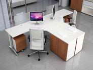 Pracovní stůl pro 2 místa do T